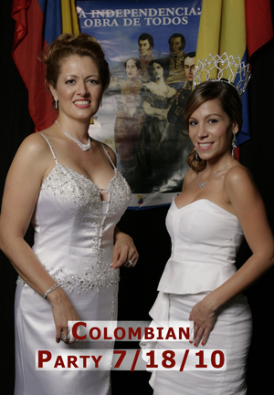 Colombian Party Fiesta Event July 18, 2010