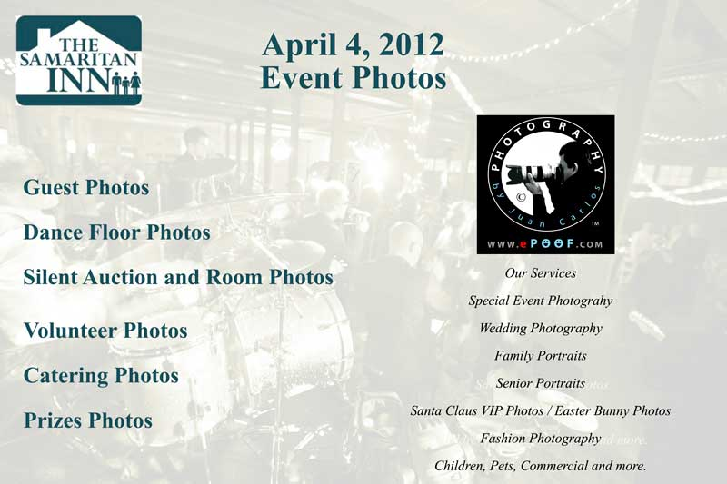 Samaritan Inn non profit photography by juan carlos of entertainment photos