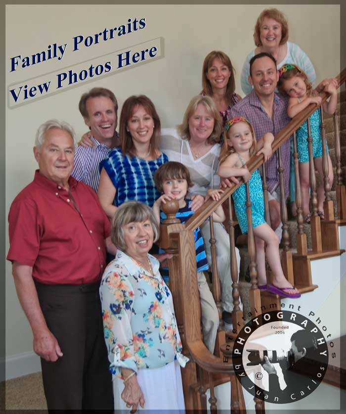 Walker Family Portraits by Juan Carlos of Entertainment Photos epoof